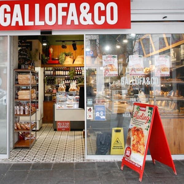 panadería Gallofa Valdenoja tienda en Santander con panadería productos gourmet envasados conservas