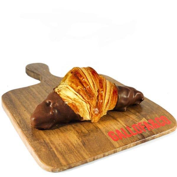 croissant chocolate relleno