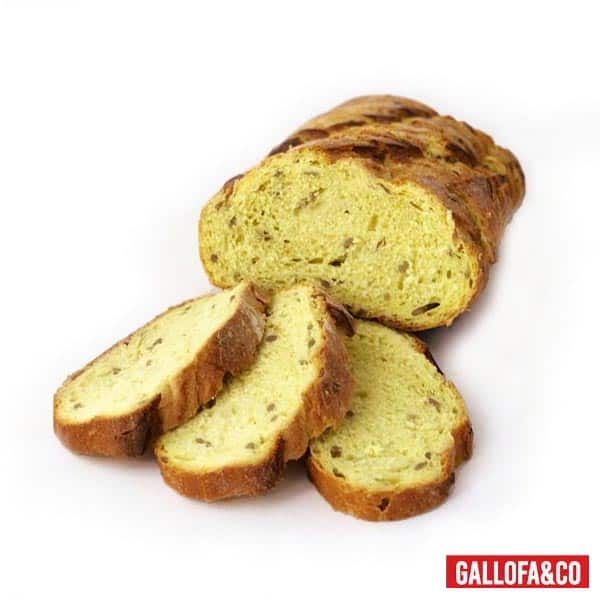 pan de maíz rebanado