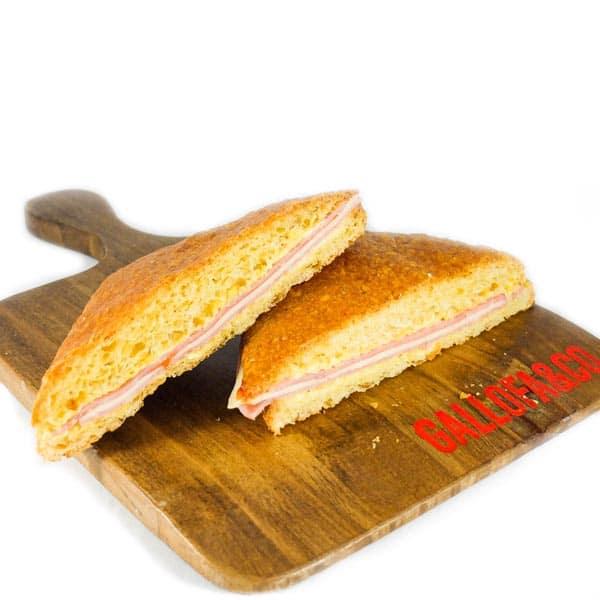 comprar sandwich jamón queso aperitivo