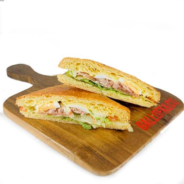 comprar sandwich vegetal atún