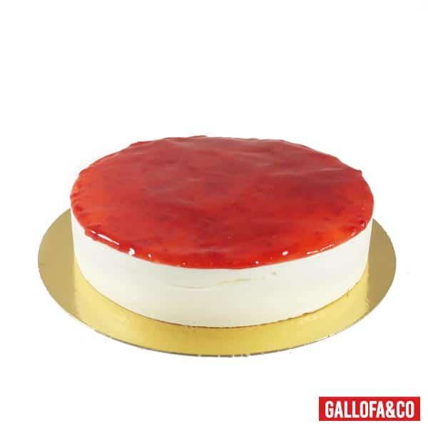 comprar tarta queso y fresa