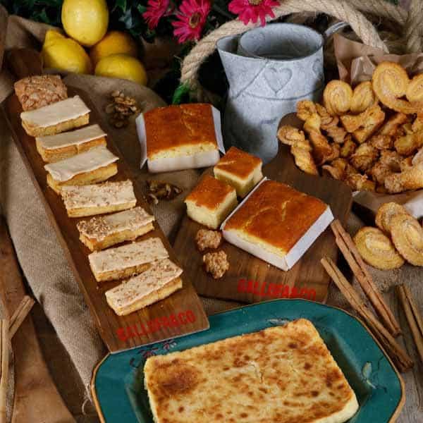 cafetería con productos típicos cantabria y santander