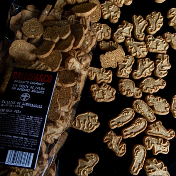 galletas dinosaurios saludables para niños