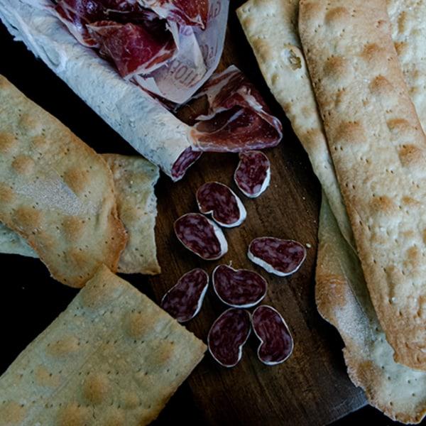 lingue pan seco tostado