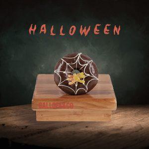 berlina chocolate decoración halloween