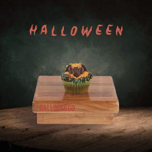 pastel cupkcake halloween murcielago