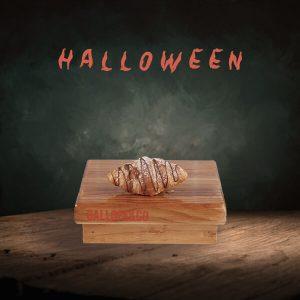 croissant hojaldre mantquilla dulce leche halloween