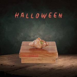 mini crosissant hojaldre mantequilla halloween kiwi
