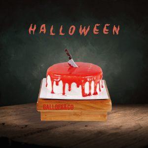 tartas halloween bizcocho fresa postres dulces niños